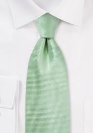 Extra Long Tie in Seacrest Green