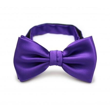 Regency Purple Mens Bow tie