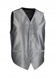 Formal Gray Mens Tuxedo Textured Vest