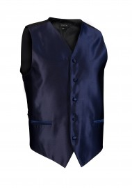 dark navy textured wedding formal vest mens