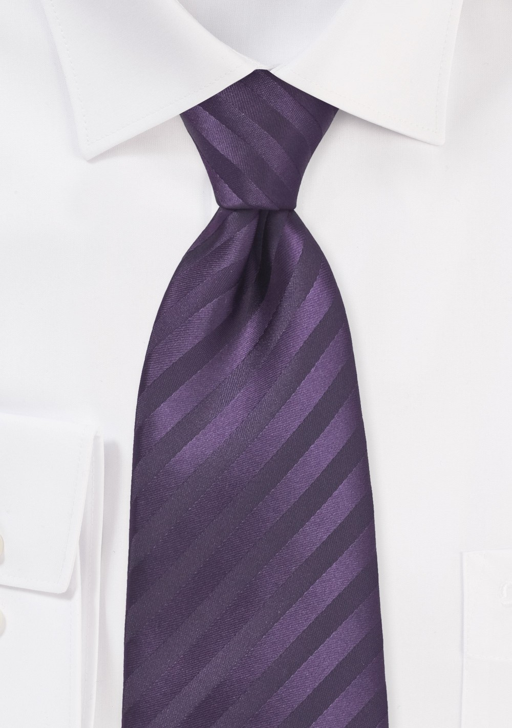 Two Toned Purple Kids Necktie