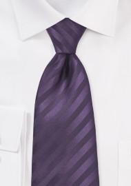 Two Toned Purple Tie in XL Length