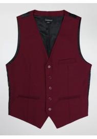 tnt  Dress Vest in Classic Burgundy