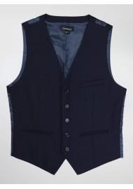 Navy Blue Dress Vest