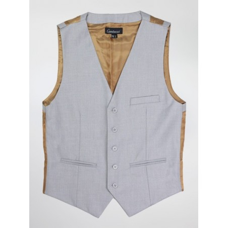Light Gray Dress Vest
