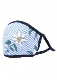 summer floral stripe mask with nano filter for men and women