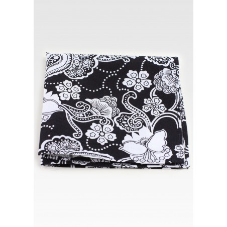 Bandana Floral Paisley Cotton Hanky