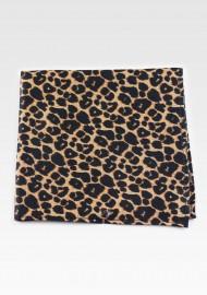 Cheetah Print Suit Hanky