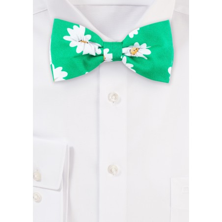 Bow Tie in Spring Green