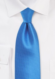 XL Length Tie in French Blue