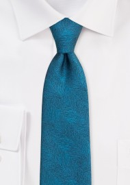Mens Tie in Gem Green