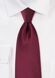Claret Red Kids Tie