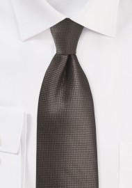 XL Tie in Chestnut Brown