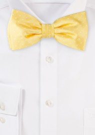 Golden Yellow Bowtie with...