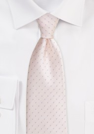 Petal Pink Mens Tie with...