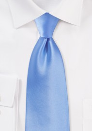 Bright Blue Kids Necktie