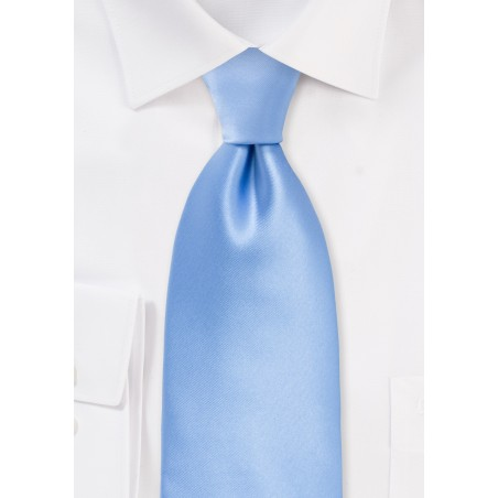 Solid Colored Tie in Sky Blue