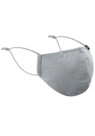 Pin Stripe Mask in Silver
