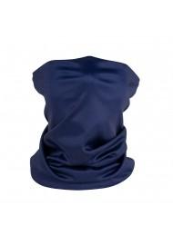 solid navy blue neck gaiter mask