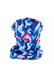 abstract print graphic design neck gaiter