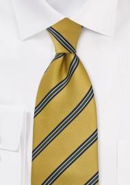 British Tie in Collegiate Gold