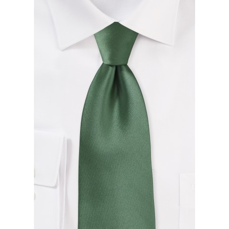 Olive Color Tie