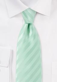Narrow Pistachio Colored Neck Tie