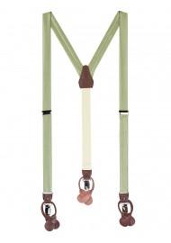 Light Sage Colored Suspenders