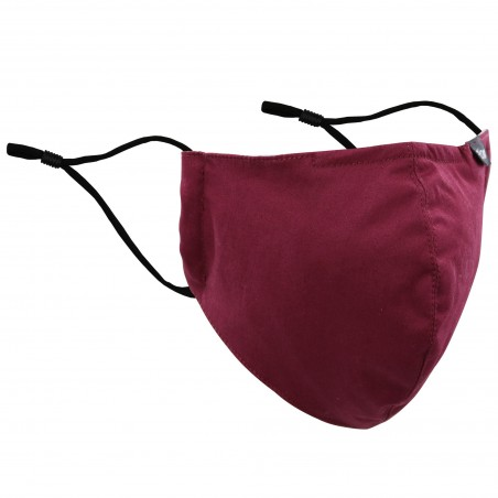 Filter Mask in Burgundy Red