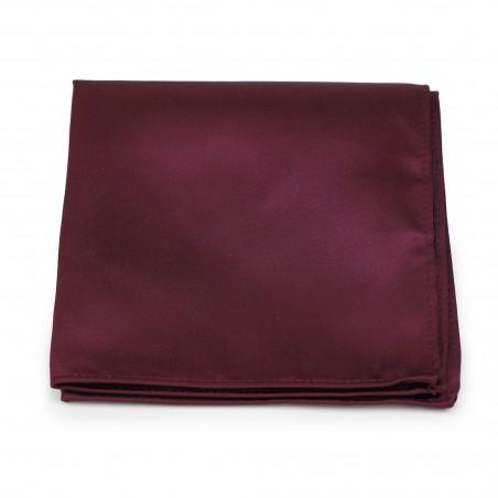 Plum Purple Pocket Square