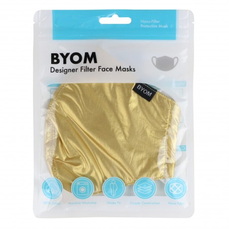 Festive Filter Mask in Vegas Gold in Bag