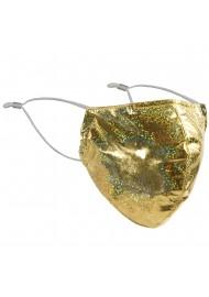Golden Glitter Face Mask