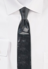 Metallic Print Necktie