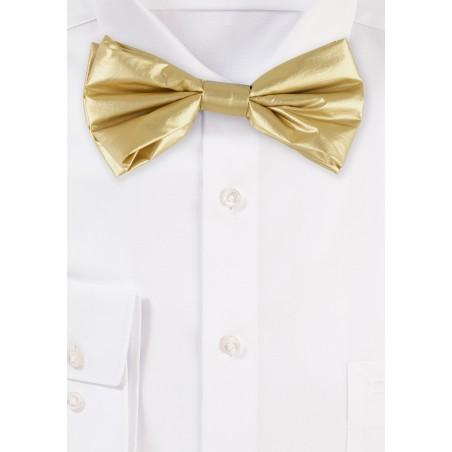 Metallic Gold Bow Tie