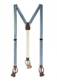 Steel Blue Suspenders