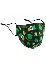 St Patrick's Day Filter Mask
