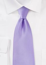 XL Length Lavender Hued Tie for Boys