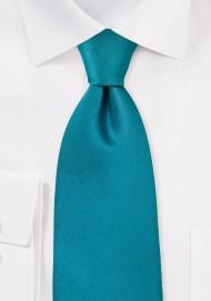 Solid Color Ties Jade Green