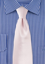 Wedding Tie in Soft Blush