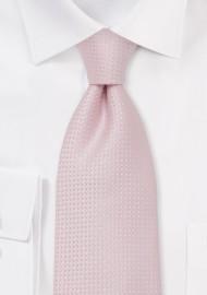 Light Rose Pink Necktie for Kids