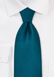 Turquoise Blue Kids Silk Tie