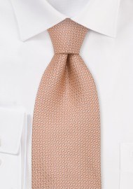 Brand name neckties - Pink silk tie by Chevalier
