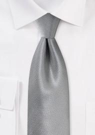 Dress Necktie in Sterling