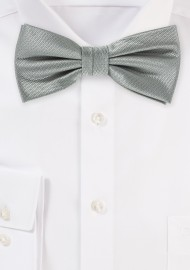 Dress Bow Tie in Formal Gray