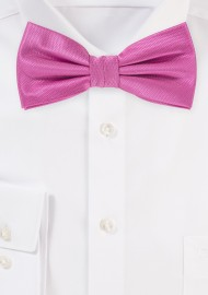 Dress Bow Tie in Begonia