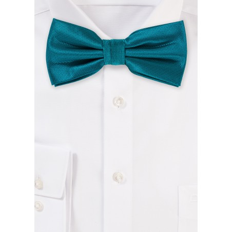 Teal Green Mens Dressy Bow Tie