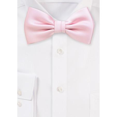 Blush Colored Bow Tie