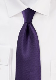 Herringbone Tie in Regency Purple