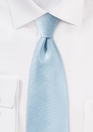 Herringbone Tie in Powder Blue