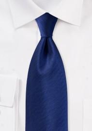 Herringbone Tie in Royal Navy